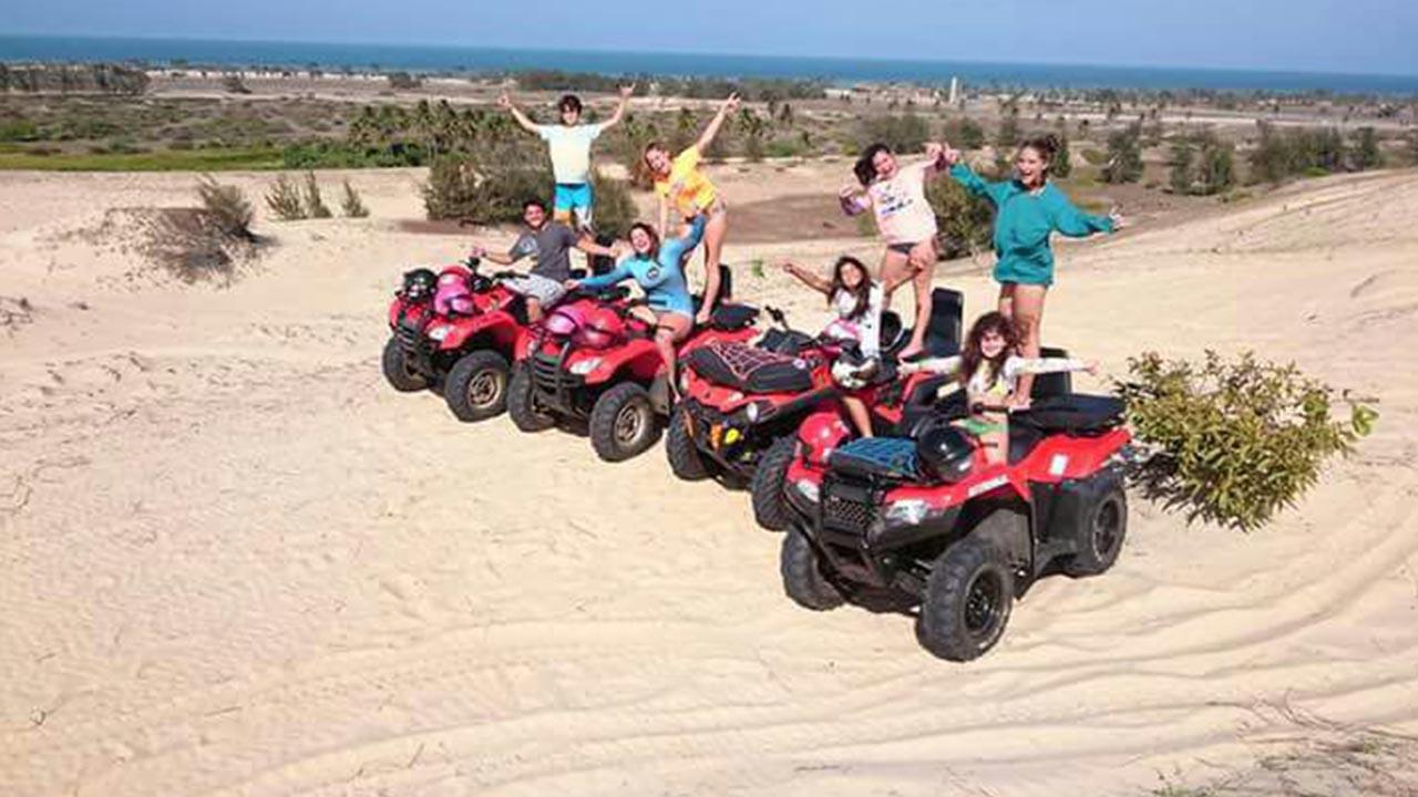 Quad ATV driving Cumbuco